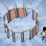 La Germania si pente e sospende Schengen