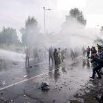 Orda migratoria: scontri al confine serbo-ungarico