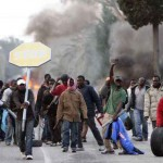 Germania, scontri tra polizia e immigrati VIDEO