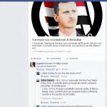 Su facebook è guerra tra terroristi e Petra László Fans Club