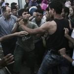 Novemila immigrati bloccati tra Grecia e Macedonia