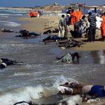 La farsa dei funerali agli immigrati di Lampedusa