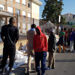 Roccella Jonica, immigrati in protesta