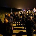 Barricate a Gorino Ferrarese contro l'arrivo degli immigrati