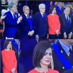 Sfilano i Parà della Folgore, Boldrini e Mattarella non applaudono