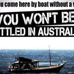 """Lotta all'immigrazione: come funziona il modello australiano del """"No Way"""""""