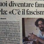 """""""Vuoi diventare famoso? Urla: """"c'è il fascismo!"""""""